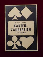 Buch, Dr. George E. Casaubon, Kartenzaubereien mit der kurzen Karte, um 1950