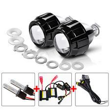 "Auto 35W 2.5"" Bi-xenon HID Projector Lens Kits Set For Retrofit H4/H7 Headlight"