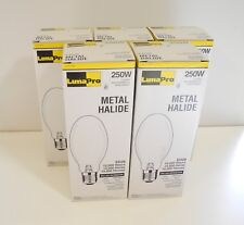 Lot of 5 Lumapro 2YGE3 250W ED28 Metal Halide Light Bulb MH250/C/U/M58/E New