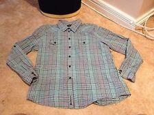 Ben Sherman Multi Check Boys Shirt XL (A2518)