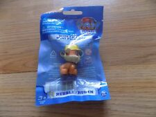 """Nickelodeon Paw Patrol Rubble Puppy Dog PVC Figure Toy Cake Topper 1.75"""" New"""