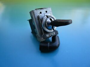 OEM Lucas Windshield WIPER Switch & Switch Label for Sunbeam Alpine and Tiger !!