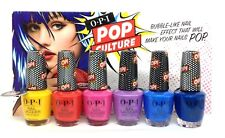 OPI Nail Lacquer - POP CULTURE 2018 SUMMER - ALL 6 Shades NLP48-NLP53