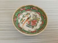 Vintage or Antique Chinese Famille Rose Mini Bowl 2 5/8'' W  # 3
