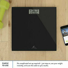 Weight Loss Scale Digital WiFi Bathroom Fitness App Smartphone Large Display NEW