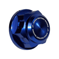Apico Front Axle Nut - M24 X 1.5 - Husqvarna TC/FC 2003-14, TE/FE 2003-15 - Blue