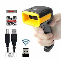 H1W Wireles 1D/2D QR Scanner Handheld Data Collector Bar Code Reader Android IOS