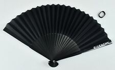Givenchy Paper Hand Fan Black