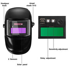 Welding Mask Helmet Auto Darkening Solar Powered Welders ARC TIG MIG vzx