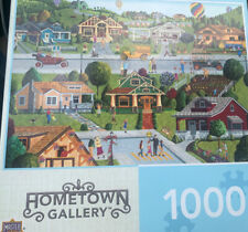 MasterPieces - HOMETOWN GALLERY - BUNGALOWVILLE - 1000 Piece Jigsaw Puzzle