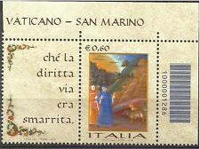 2009 Giornata della lingua italiana con codice a barre - € 0,60 nuovo / mint