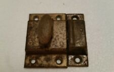 Single turn knob metal cabinet latch and catch with knob  (1038)