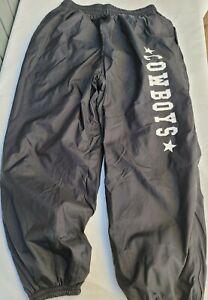 Dallas Cowboys athletic track pants BLACK