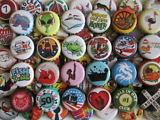 100 Rare Unique Regular Bottle Caps..They are from home brewed Beer and Soda