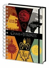 GAME OF THRONES SIGILS A5 NOTEBOOK LINED PAGES GREAT GIFT