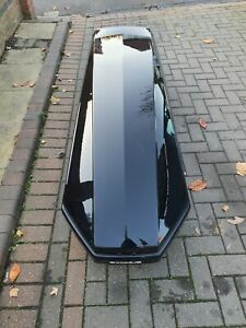 Exodus 360 Black Roof Box