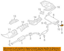 FORD OEM 12-18 Focus 2.0L-L4 Exhaust-Rear Muffler Bracket Right CV6Z5K291D