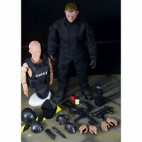 "1/6 Soldier Action Figure 12"" SWAT Uniform Military Army Model Toy Kids Gift"
