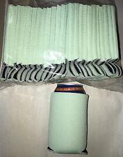 Mint Color Can Cooler Hugge Koozie Blank Lot 25  Wedding  Sublimation Summer Fun