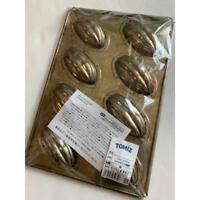 Chiyoda metal Cacao cake Madeleine mold 8P Baking sheet oven New Courier Ship