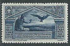 1930 REGNO POSTA AEREA VIRGILIO 9 LIRE LUSSO MH * - Y067-2
