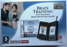 CONSOLE NINTENDO DS LITE NERO BRAIN TRAINING PACK SEALED