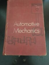 Automotive Mechanics 3rd Edition by William H Crouse 1956 Vintage Hardcover