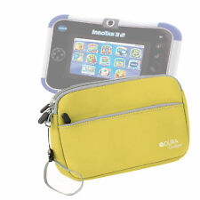 Yellow Neoprene Case Cover Sleeve For Use With Kids Vtech Innotab 3S Plus / 3S