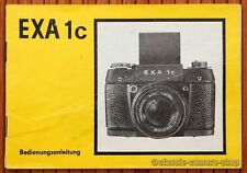 IHAGEE PENTACON Bedienungsanleitung EXA Ic 1c User Manual Kamera Anleitung X2570