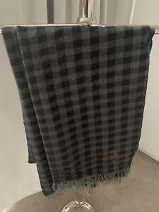 Vivienne Westwood Grey Black Scarf