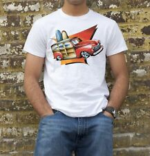 SURF WOODY / FORD HOT ROD T-SHIRT