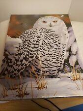 Factory sealed SPRINGBOK 500 piece Jigsaw Puzzle Snowy Owl 2008