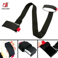 1 pcs Black Adjustable Ski Snowboard Shoulder Strap Lash Handle Straps Pole Bag