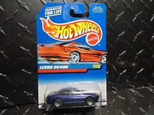 Hot Wheels #770 Purple Lexus SC400  w/Lace Wheels Tinted Windows