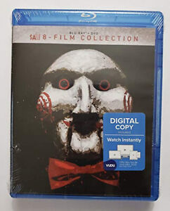 SAW 8 Film Complete Collection Blu Ray 1 2 3 4 5 6 7 & Jigsaw [Region 4] - DVD
