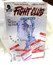 The FIGHT CLUB featuring the GOON & The strain-Free comic Book day 2015-UNstamp+