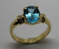 Natural Topaz Fine Rings