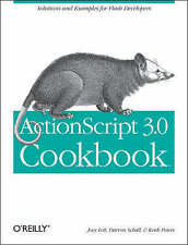 ActionScript 3.0 Cookbook by Lott, Joey -Paperback Express Postage