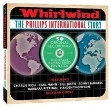 Whirlwind-Phillips International Story 2-CD NEW SEALED Carl Mann/Sonny Burgess+