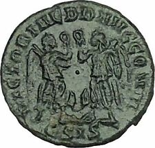 CONSTANTIUS II Constantine the Great son Roman Coin Two Victories  i40002