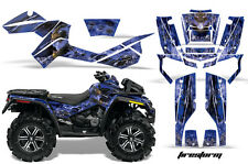 Can-Am Outlander XMR Graphic Kit 500/800 AMR Decal ATV Sticker Part FIRE BLU