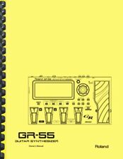 Roland GR-55 Multi-Effects Guitar Synthesizer OWNER'S MANUAL