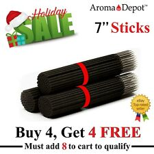 100 Incense Sticks Heavily Scented Quality Hand Dipped 7'' Charcoal  Sticks BULK
