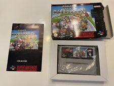 Super Nintendo Super Mario Kart Complete SNES