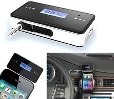 Kit mains libres FM voiture Sans Fil Radio iPhone 3GS 4 4S 5 iPod Touch LCD