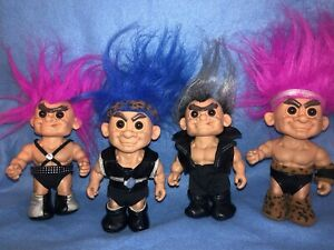 Macho Macho Men Set Of 4 Muscle Trolls By Russ