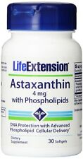 Life Extension Astaxanthin with Numerous Health Benefits - 4 mg, 30 Softgels