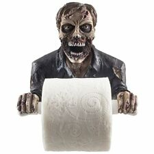 The Undead Graveyard Zombie Decorative Toilet Paper Holder in Scary Halloween As