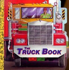 The Truck Book (A Golden Super Shape Book)