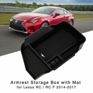 Armrest Storage Box for Lexus RC / RC F 2014 2015 2016 2017 Center Console Tray